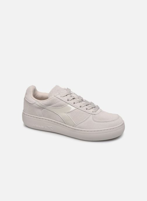 Baskets Diadora Elite Wide Nub Beige vue détail/paire