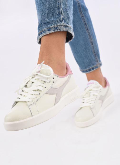 Sneakers Diadora Game Wide I Bianco immagine dal basso