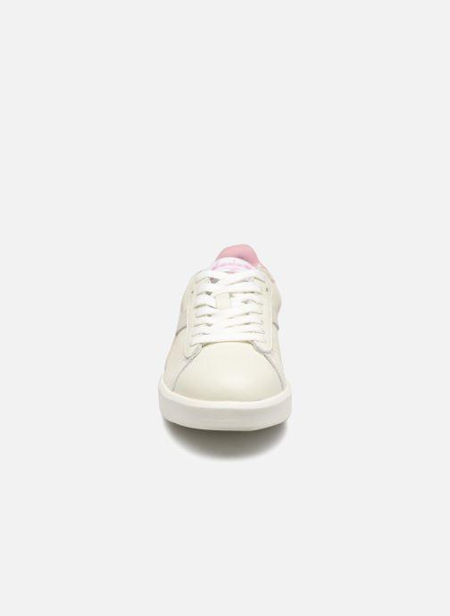 Baskets Diadora Game Wide I Blanc vue portées chaussures