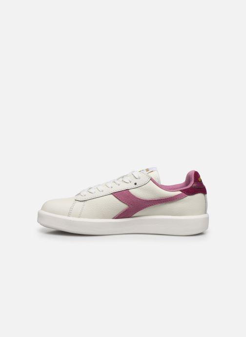 Sneaker Diadora Game Wide I weiß ansicht von vorne
