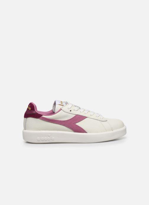 Sneaker Diadora Game Wide I weiß ansicht von hinten
