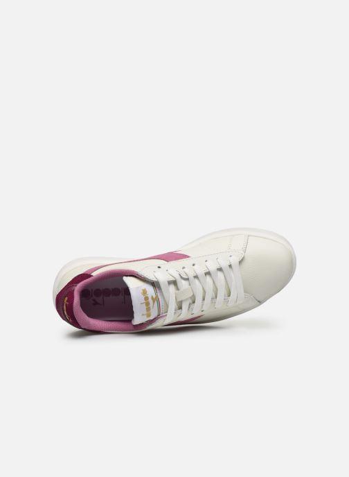Sneaker Diadora Game Wide I weiß ansicht von links
