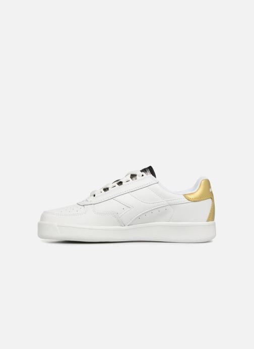 Sneaker Diadora Elite Wn weiß ansicht von vorne