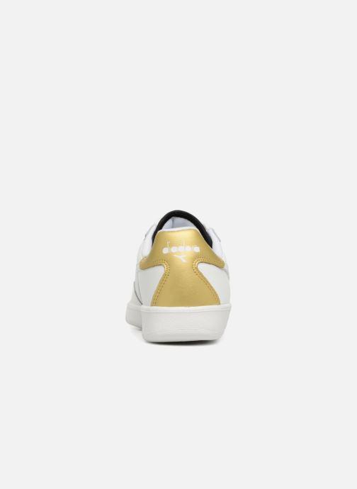 Sneaker Diadora Elite Wn weiß ansicht von rechts