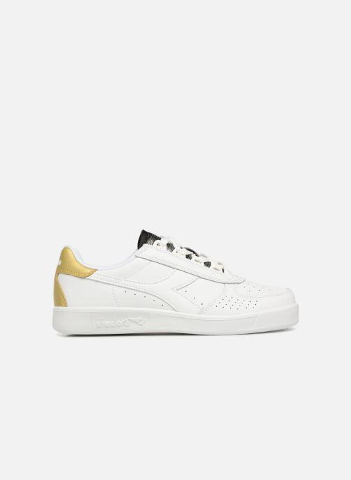 Sneaker Diadora Elite Wn weiß ansicht von hinten