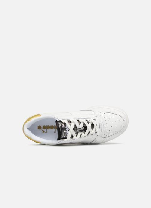 Sneaker Diadora Elite Wn weiß ansicht von links
