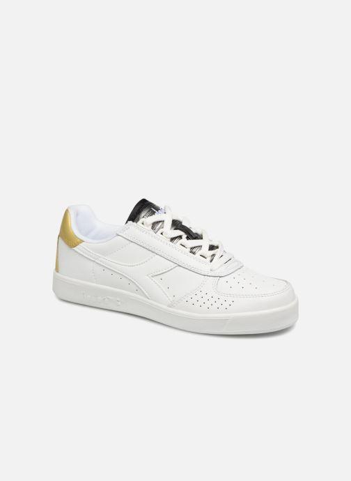 Baskets Diadora Elite Wn Blanc vue détail/paire