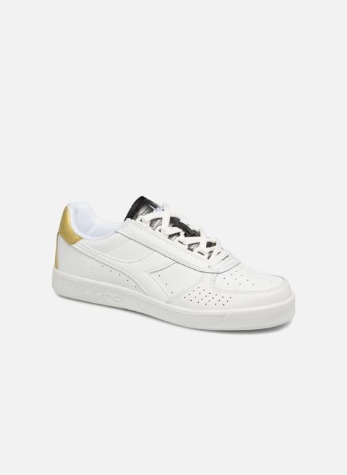 Baskets Diadora Elite Wn Blanc vue détail/paire