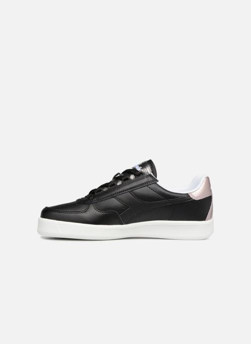 Sneakers Diadora Elite Wn Zwart voorkant