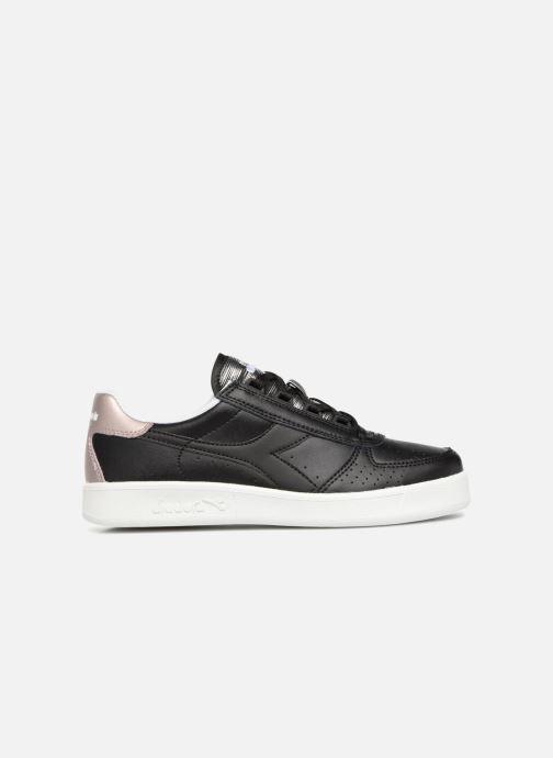 Sneakers Diadora Elite Wn Zwart achterkant