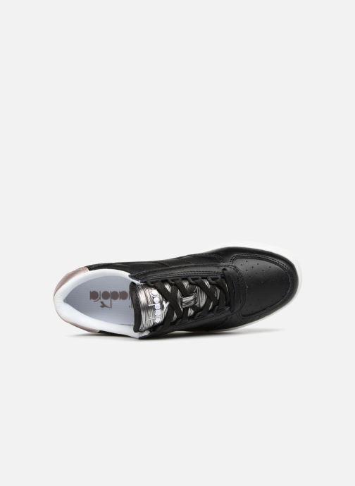 Sneakers Diadora Elite Wn Zwart links