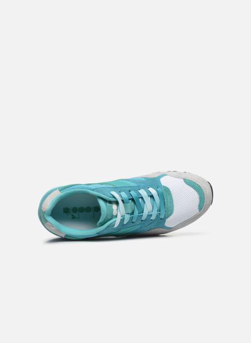 Baskets Diadora N902 Speckled Bleu vue gauche