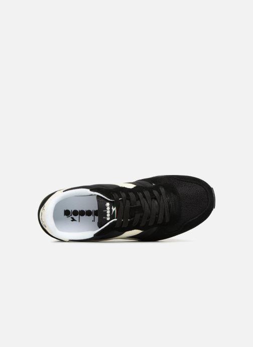 Baskets Diadora Camaro Noir vue gauche