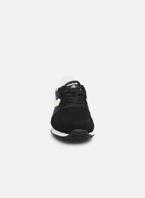 Baskets Diadora Camaro Noir vue portées chaussures