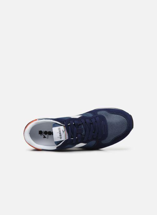 Sneakers Diadora Camaro Azzurro immagine sinistra