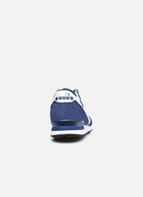Baskets Diadora Camaro Bleu vue droite