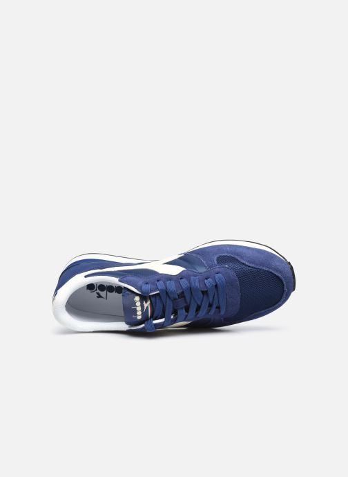 Baskets Diadora Camaro Bleu vue gauche