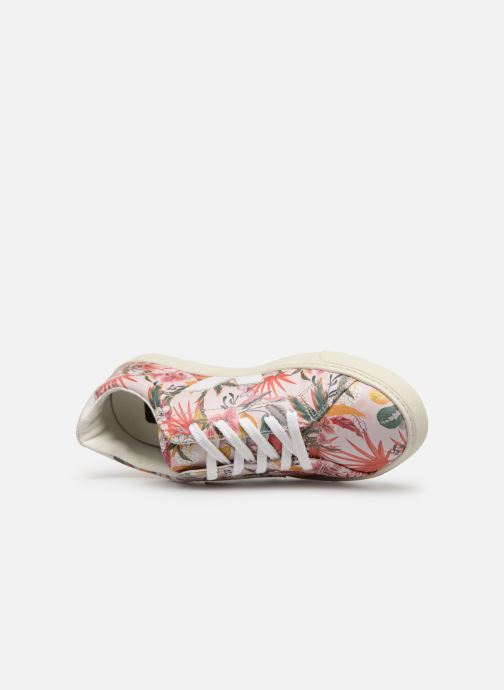 Trainers Veja Esplar Small Lace Pink view from the left