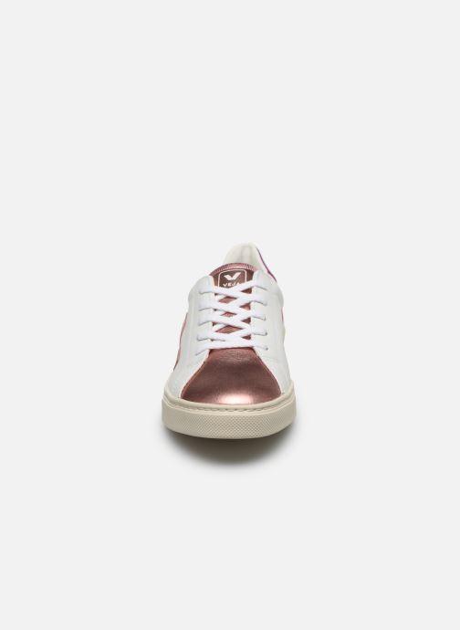 Baskets Veja Esplar Small Lace Blanc vue portées chaussures