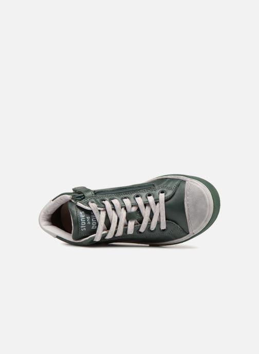 Sneaker Stones and Bones Robbi grün ansicht von links
