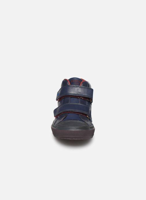 Baskets Stones and Bones Rosti Bleu vue portées chaussures
