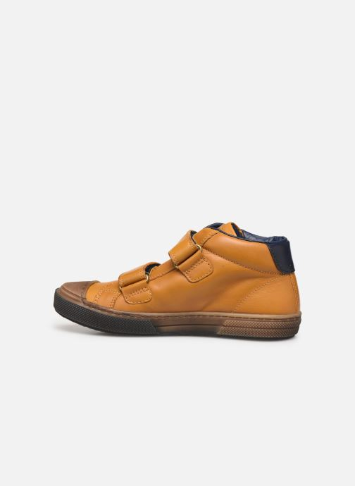 Sneaker Stones and Bones Rosti gelb ansicht von vorne