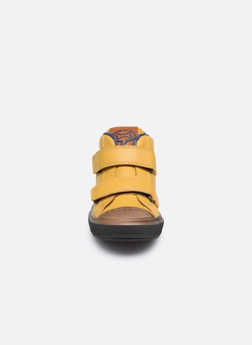 Baskets Stones and Bones Rosti Jaune vue portées chaussures