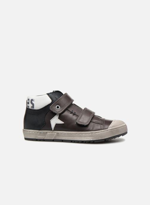 Sneaker Stones and Bones Boste grau ansicht von hinten