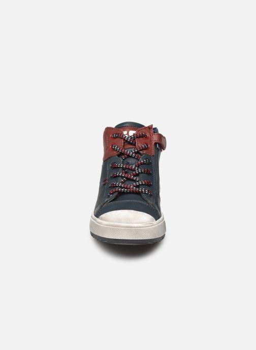 Baskets Stones and Bones Boris Bleu vue portées chaussures