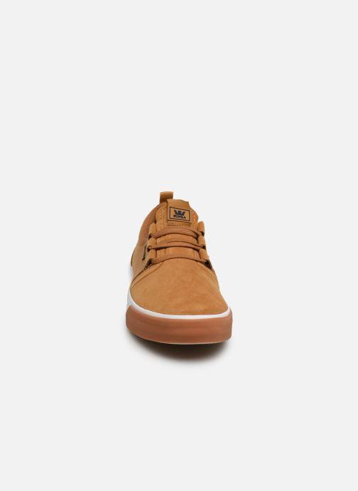Sneaker Supra FLOW beige schuhe getragen