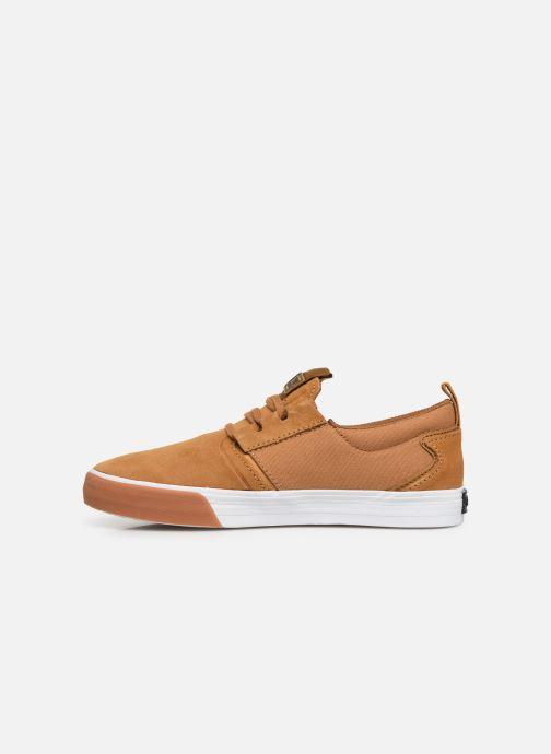 Sneaker Supra FLOW beige ansicht von vorne