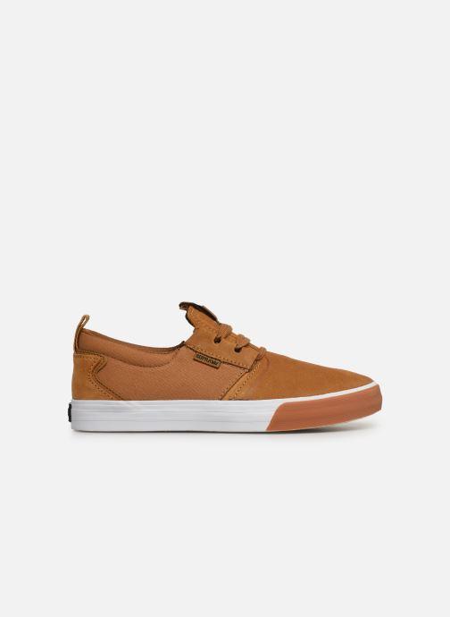 Sneaker Supra FLOW beige ansicht von hinten