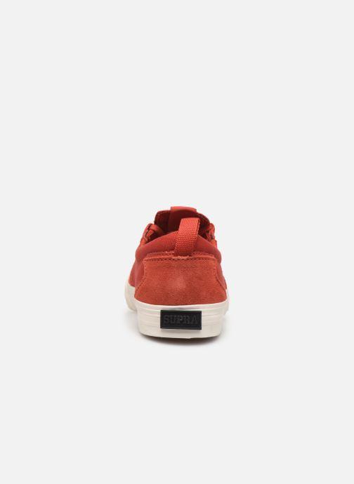 Baskets Supra FLOW Rouge vue droite