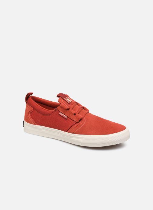 Baskets Supra FLOW Rouge vue détail/paire