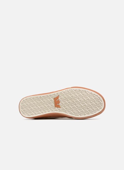 Baskets Supra MELROSE Blanc vue haut