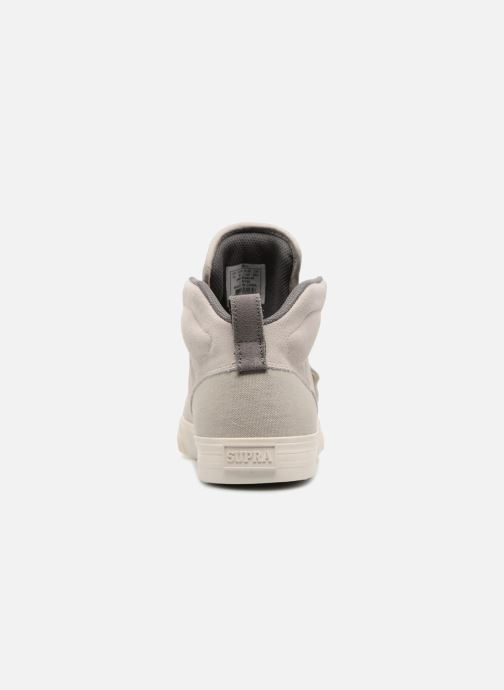 Trainers Supra ROCK Grey view from the right