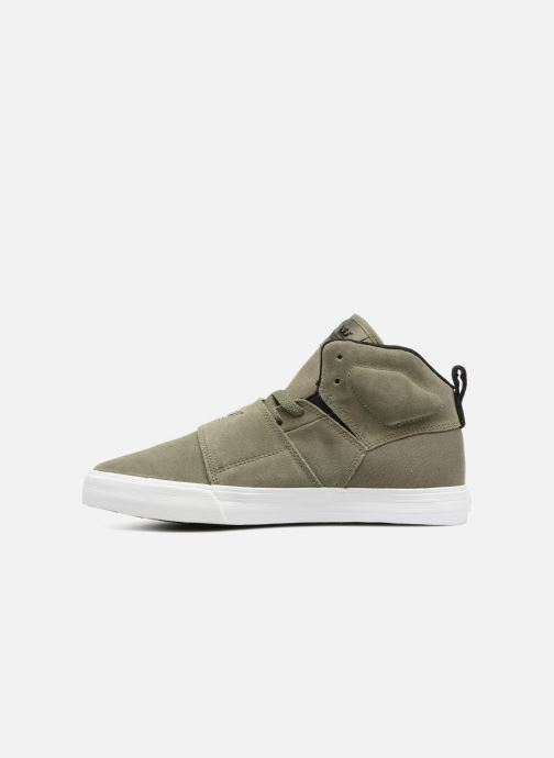 Trainers Supra ROCK Green front view