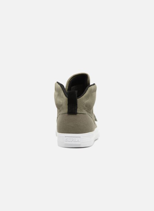 Trainers Supra ROCK Green view from the right