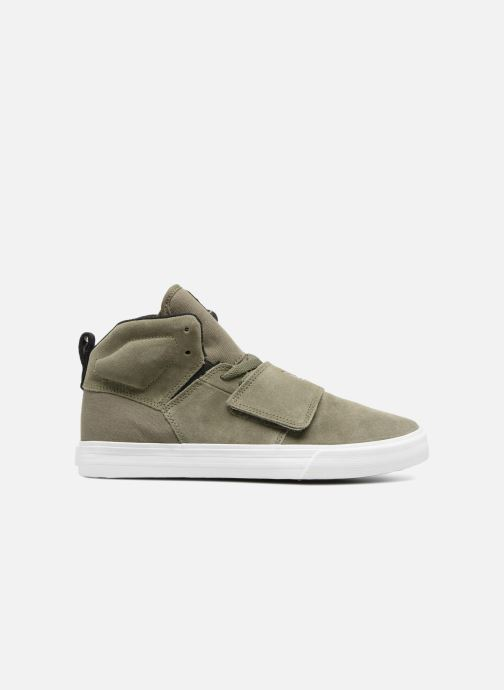 Trainers Supra ROCK Green back view