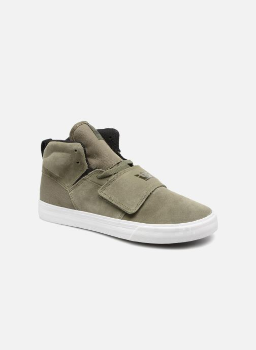 Trainers Supra ROCK Green detailed view/ Pair view