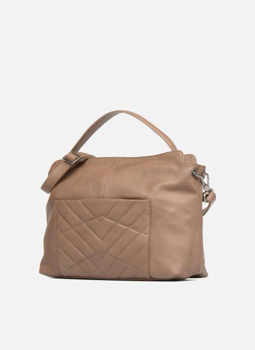 Handtaschen Sabrina Angèle M braun schuhe getragen