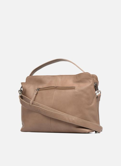 Handbags Sabrina Angèle M Brown view from the right