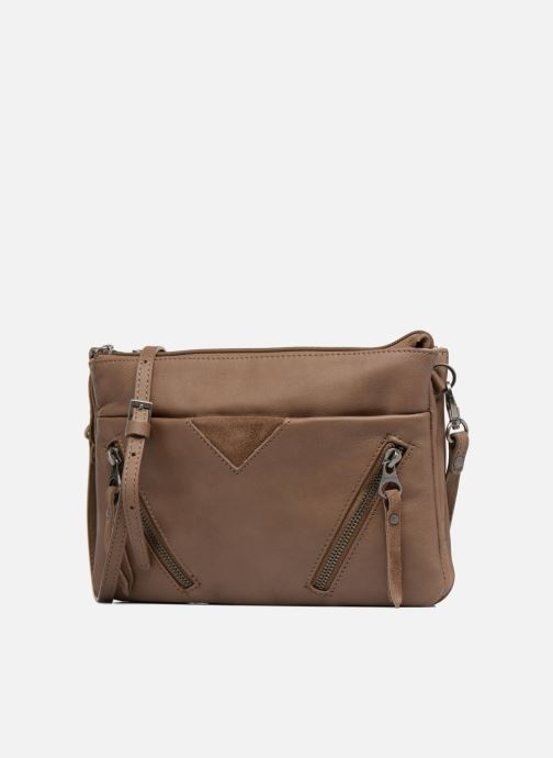 Clutch bags Sabrina Aurélia Brown model view