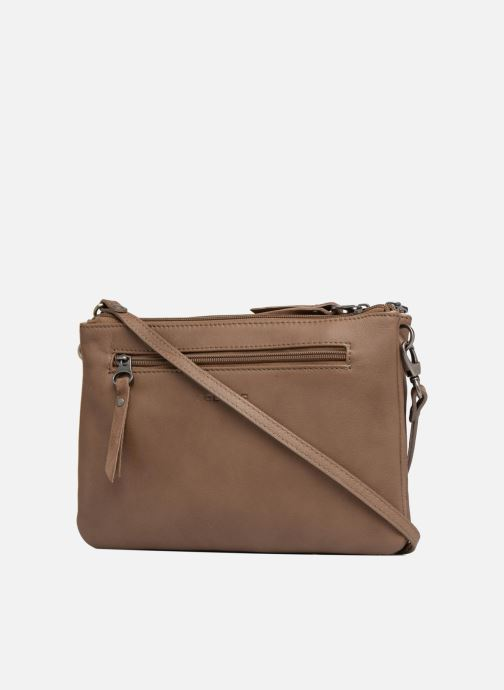 Clutch bags Sabrina Aurélia Brown view from the right