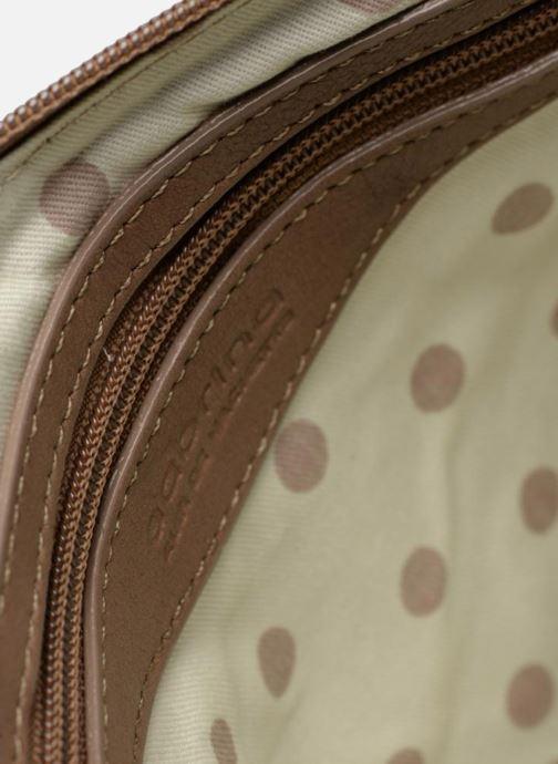 Clutch bags Sabrina Aurélia Brown back view