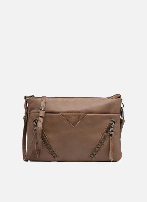 Clutch bags Sabrina Aurélia Brown detailed view/ Pair view