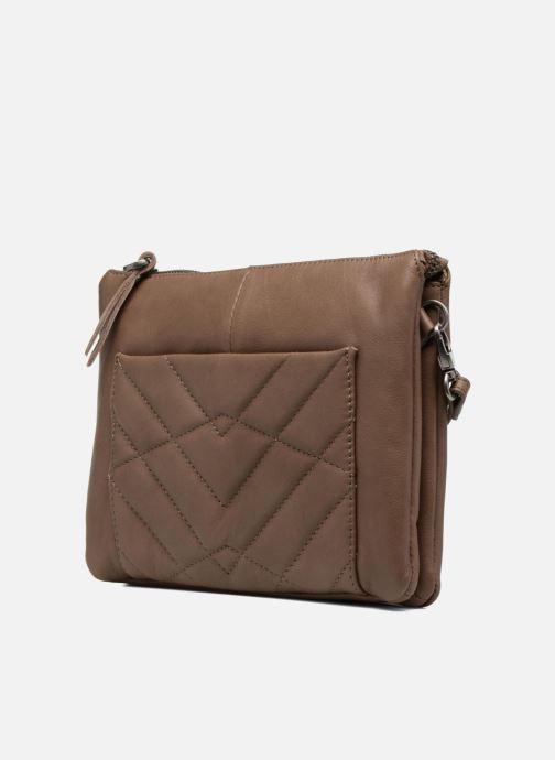 Mini Bags Sabrina Capucine braun schuhe getragen