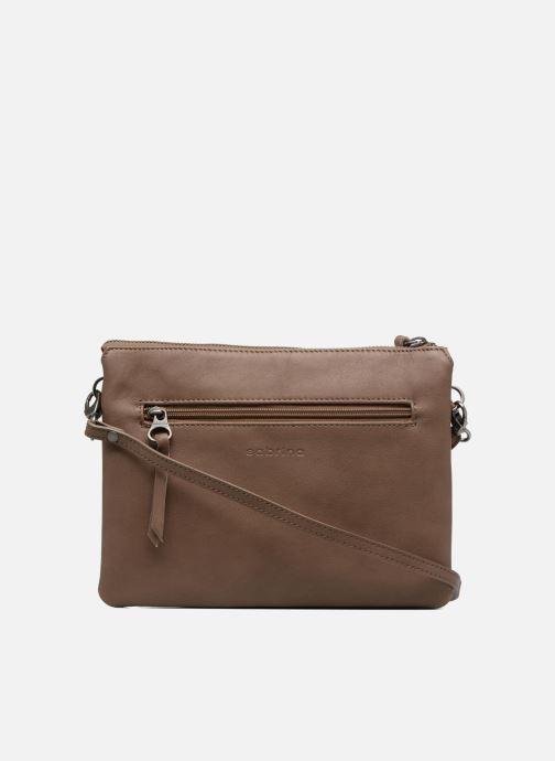 Mini Bags Sabrina Capucine braun ansicht von vorne