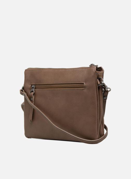 Mini Bags Sabrina Capucine braun ansicht von rechts