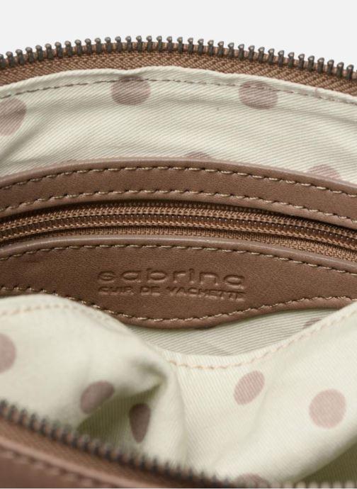 Mini Bags Sabrina Capucine braun ansicht von hinten